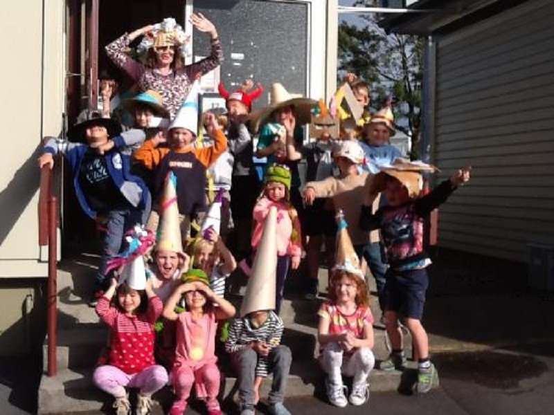 Crazy Hat Day at Ponsonby Primary School