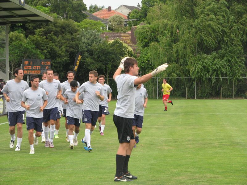 ACFC team played against Waitkere United