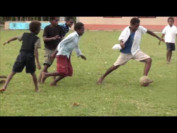 Football at Sangalai, Maskelynes
