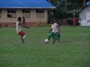 Friendly match at Sangalai School\'s pitch, Maskelynes