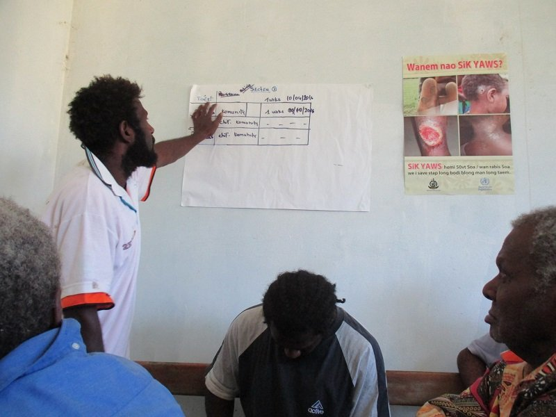 Lamap community health education training