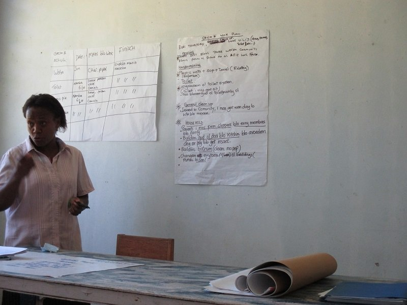 Lamap community health education training