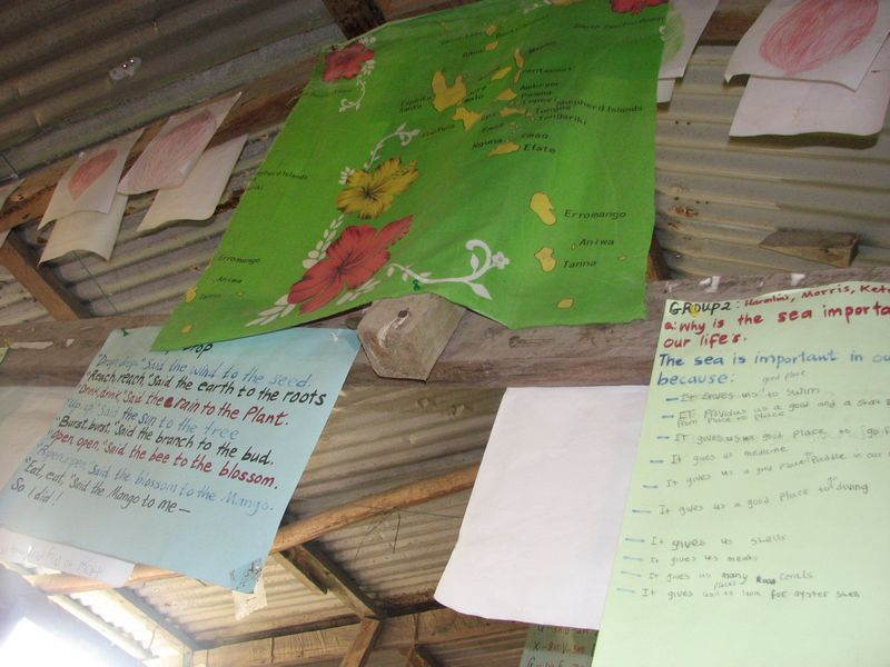 Examples of classroom displays and resources