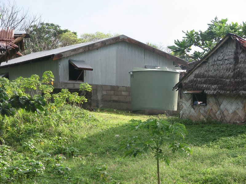 Classroom at Namaru Primary, Avock Island