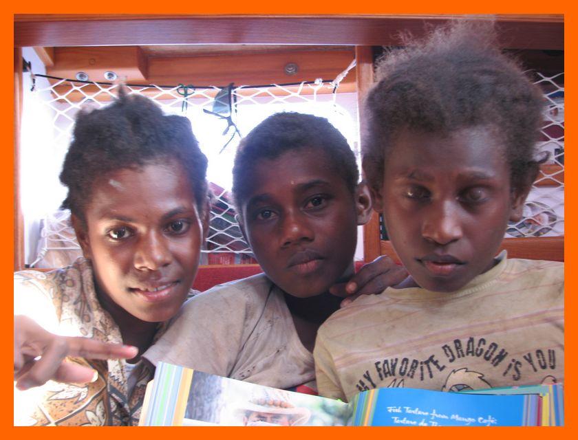 joyla, linda and liman join us on board rireana