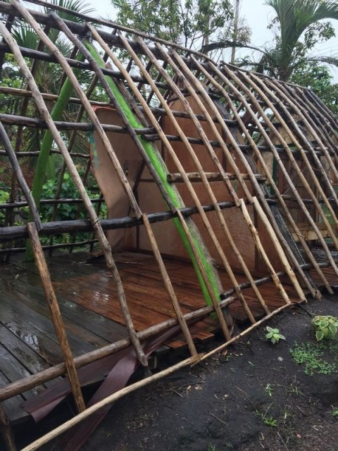 Traditional cyclone resistant  frame house