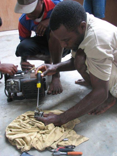 Taking a generator apart