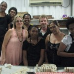 Staff at Volcanic Earth in Port Vila