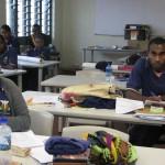 Students at Vanuatu Centre for Nursing Education
