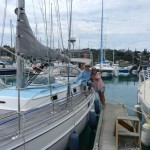 The day we sailed out of Noumea_14 May 2012